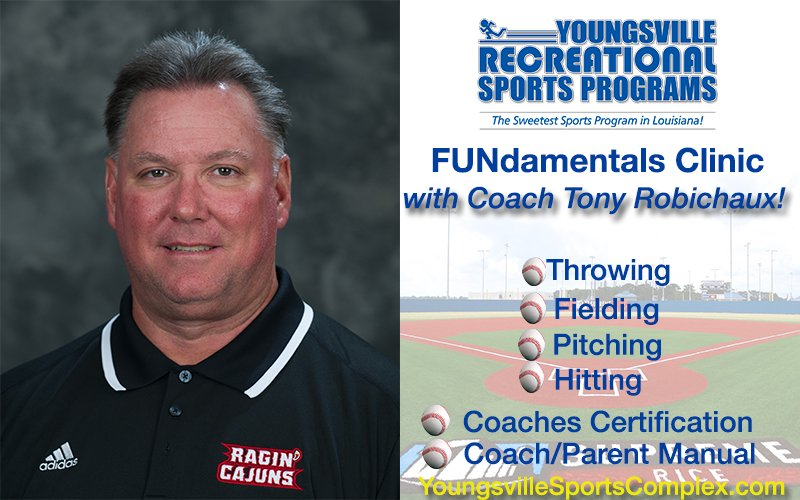 Coach Robe Offering Free Clinic!