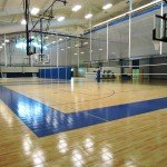 Youngsville Recreation Center features volleyball, basketball and pickleball.