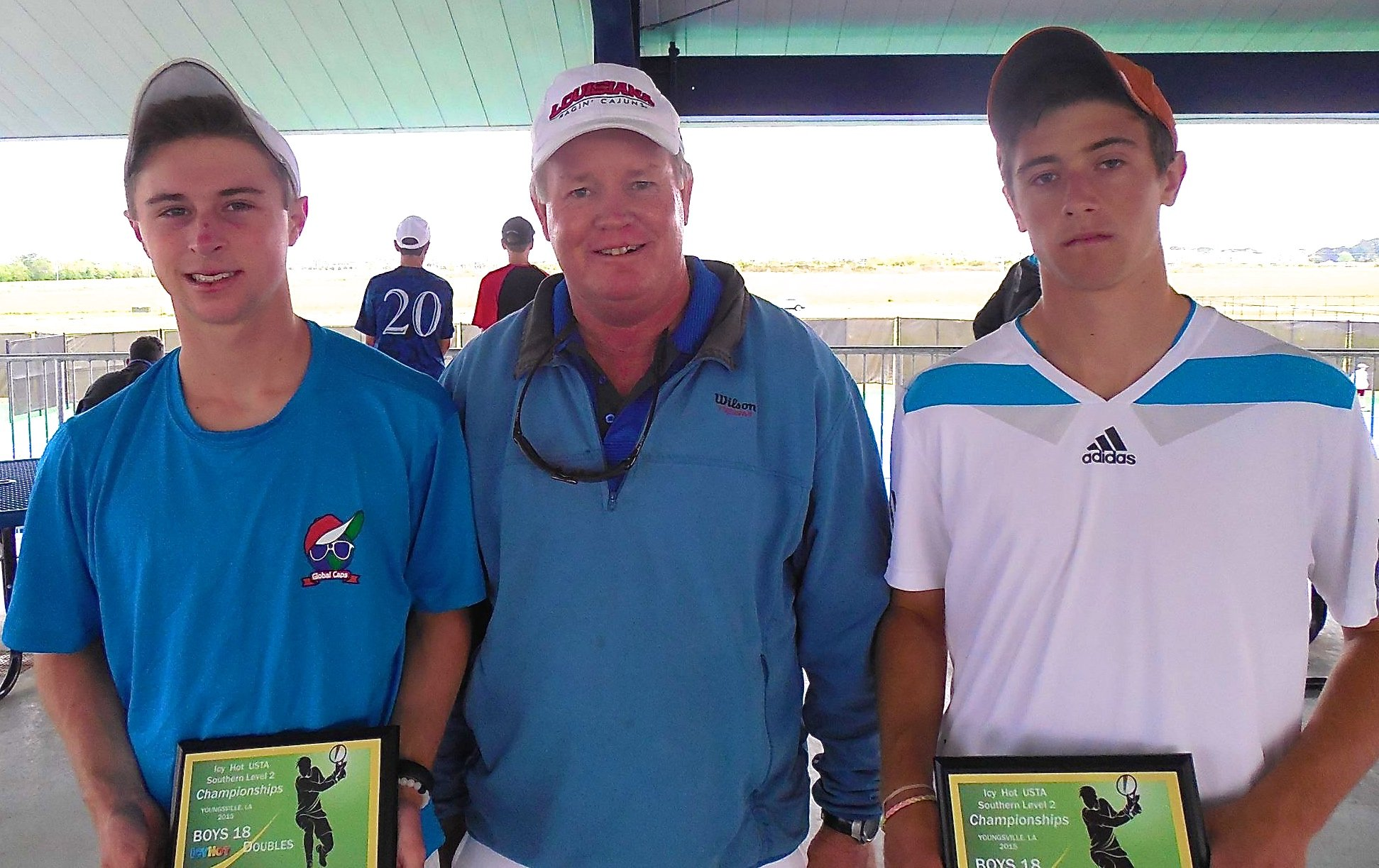 Runner Up 18 left: Paul Hendrix from Murrells Inlet, South Carolina right: Chase Schupp from New Orleans, Louisiana