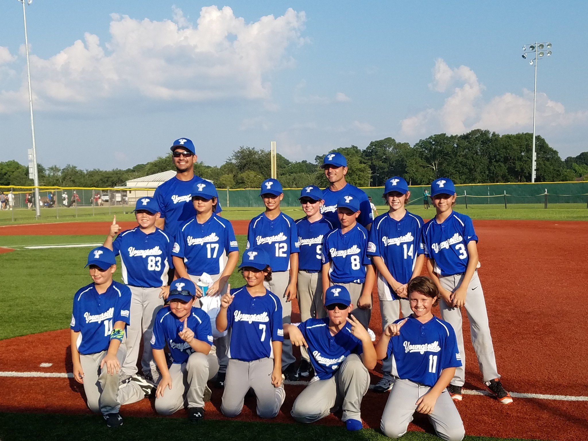Youngsville Mustang 10 All Stars take 1st Place at Annual Crowley All Star Classic Tournament!