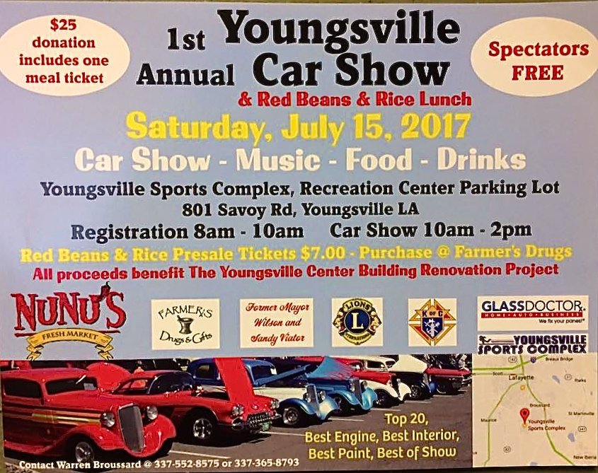 1st Annual Youngsville Car Show