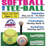 2019 Baseball, Softball & Tee-Ball