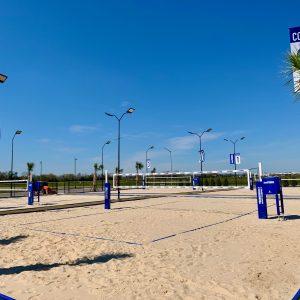 Sugar Beach, Beach Volleyball Complex
