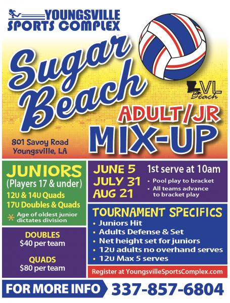 Adult/Jrs Quads/Doubles Tournaments
