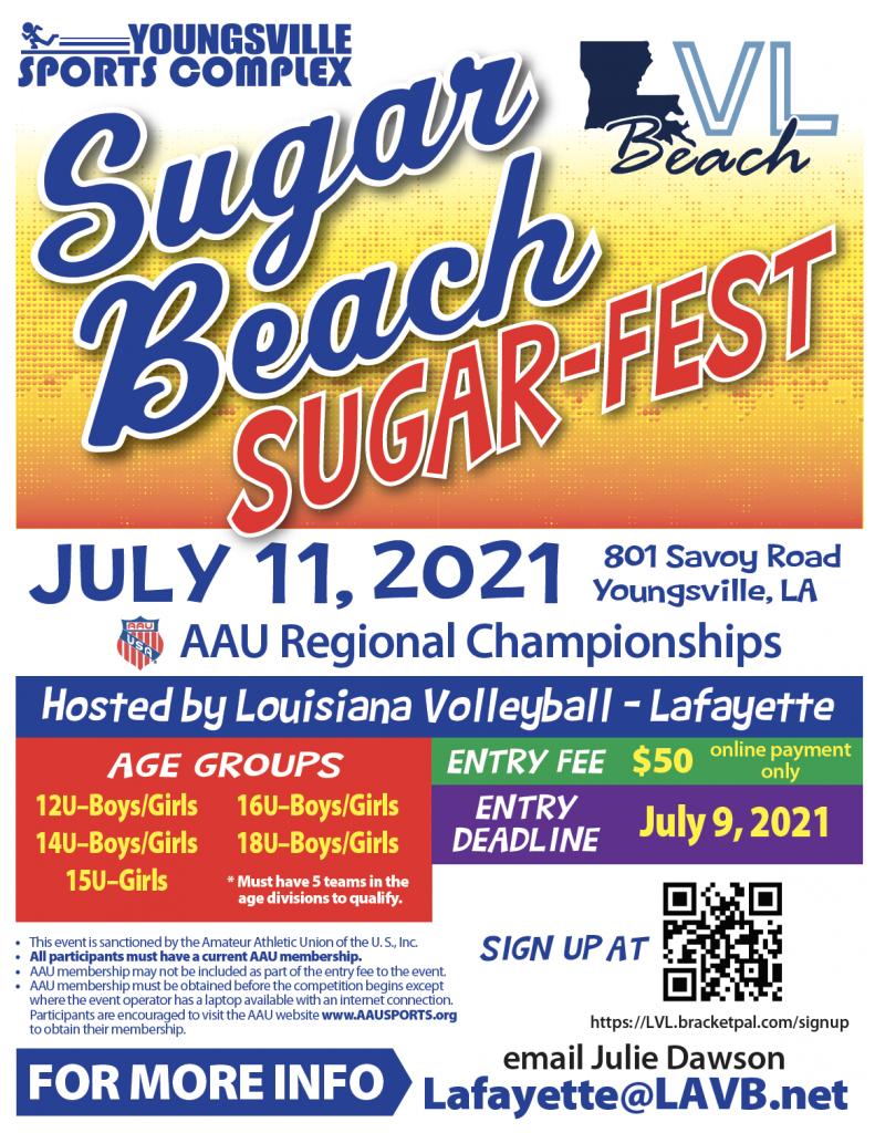 Sugar-Fest - AAU Regional Championships
