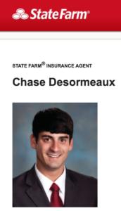 StateFarmChaseDesormeaux