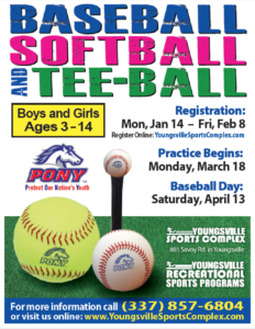 YRSP Baseball, Softball & Tee-Ball Practice Begins
