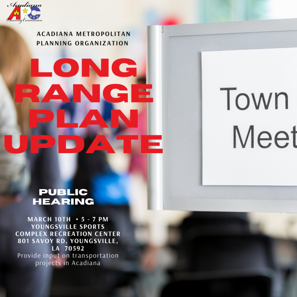 Acadiana Planning Commission Public Hearing