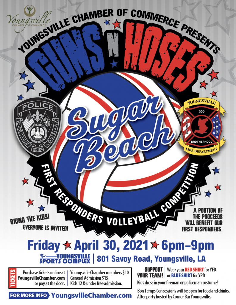 Youngsville Chamber presents Guns N' Hoses
